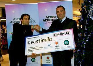 """""""I Raggi del Cuore"""": consegnato assegno di 20mila euro   SOS-TAC Palidoro   Scoop.it"""