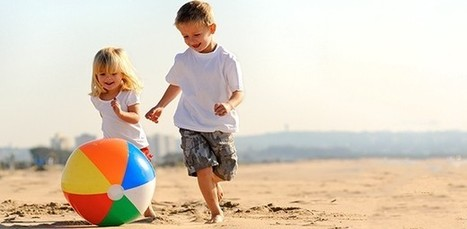 21 fun and active games for kids to play on the beach | Active For Life | Parents & Children, Learn & Play | Scoop.it