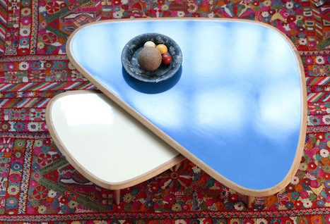 Tables gigognes, tables gain de place | La minute déco | la minute deco | Scoop.it