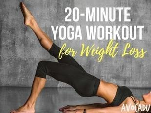 20 Minute Yoga Workout for Weight Loss | Lose Weight with Yoga Exercises | Avocadu | Health and Fitness | Scoop.it