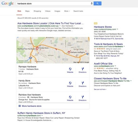 Local Search Game Changers: New Organic & Paid Google Local Results Affect Local Businesses | Domains, Geodomains, and Local Search | Scoop.it