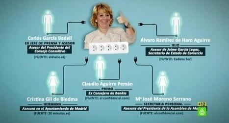 De Cazatalentos a Lideresa de Corruptos - Los nombres que Esperanza Aguirre prefiere no recordar | La R-Evolución de ARMAK | Scoop.it