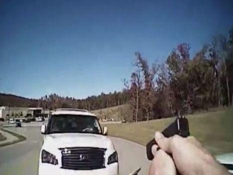 Caught on Camera: Suspect rams cop | Criminal Justice in America | Scoop.it