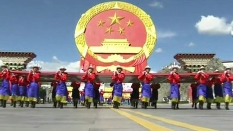 Tibet: China celebrates 50 years since 'autonomy' in Lhasa - BBC News | Information wars | Scoop.it