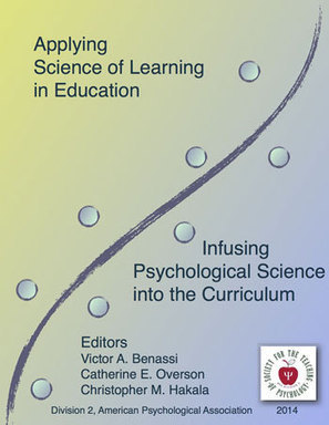 Free e-book - Applying Science of Learning in Education | Learning & Mind & Brain | Scoop.it