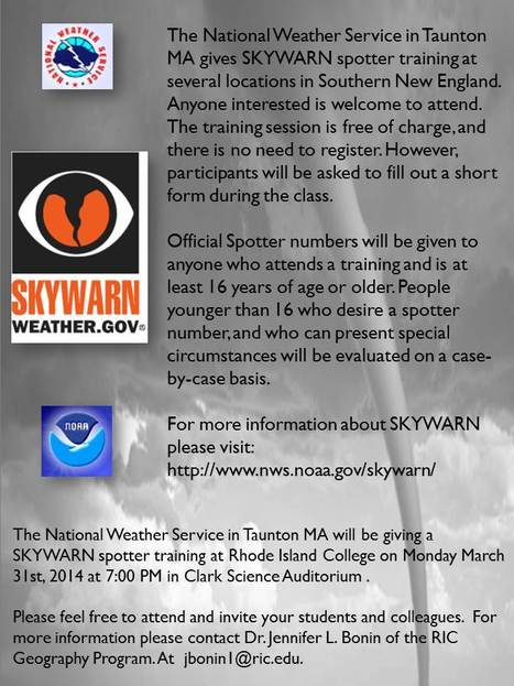 NWS SKYWARN | INTRODUCTION TO THE SOCIAL SCIENCES DIGITAL TEXTBOOK(PSYCHOLOGY-ECONOMICS-SOCIOLOGY):MIKE BUSARELLO | Scoop.it