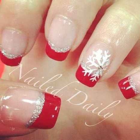 Christmas nails design 22 – Picturing Images | Fashion Home decor Tattoos Beauty Pictures | Scoop.it