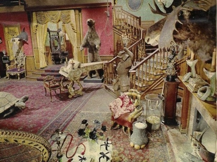 Color photos of the original Addams Familyset | Kitsch | Scoop.it