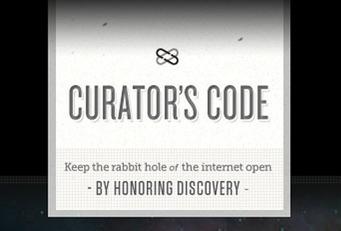 Le Code des curateurs : un code d'honneur pour les utilisateurs | TICE & FLE | Scoop.it