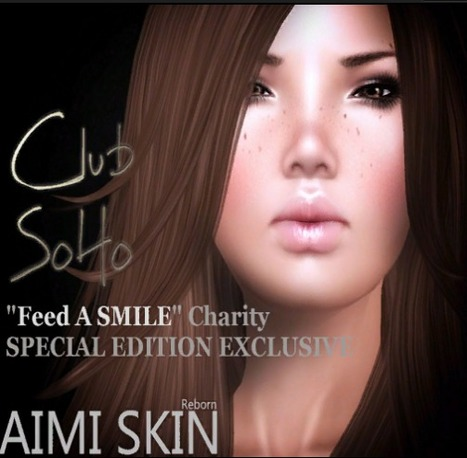 [ONE DAY ONLY] Maya Skins for Club SoHo Feed A Smile Event Group Gift by AIMI Skin | Second Life Freebies | Scoop.it