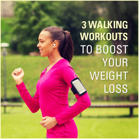 3 Walking Workouts To Help You Lose Weight | One Step at a Time | Scoop.it