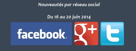 Récapitulatif des dernières fonctionnalités par réseau social : du 16 au 20 juin 2014 - Clément Pellerin - Community Manager Freelance & Formation réseaux sociaux | Facebook | Scoop.it