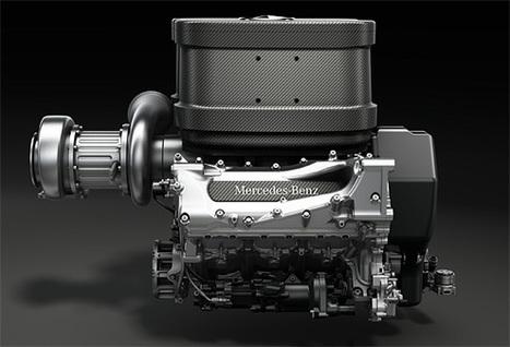 2014 Formula 1 engine   Mercedes-Benz ~ Grease n Gasoline   Honda Automotive Technicians   Scoop.it