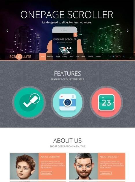 TM Scrollite - Responsive Joomla Onepage Template | Free & Premium Joomla Templates and WordPress Themes | Scoop.it