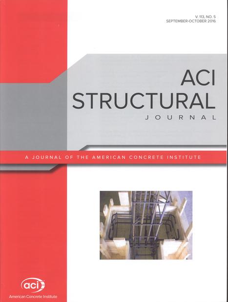 ACI Structural Journal, Vol. 113, nº 5 (2016)   Ingeniería Civil   Scoop.it