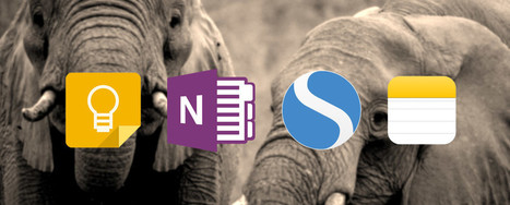 The Best Alternatives to Evernote You Need Today   Lyseo.org (ICT in High School)   Scoop.it