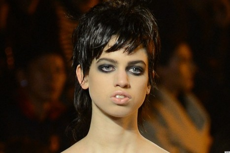 PHOTOS: Lily McMenamy, Model Kristen McMenamy's Daughter, Walks Topless At Marc Jacobs | Xposed | Scoop.it