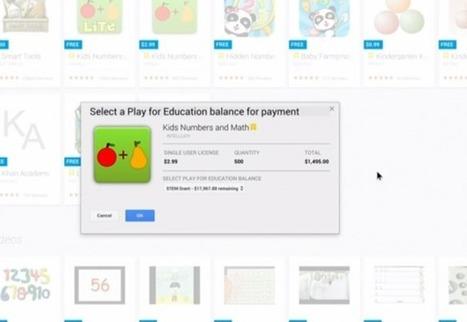 Google Play for Education Brings Apps to Educators | APP's in Education | Scoop.it
