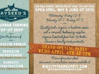 Urban Farming Supply Store to Open in Brooklyn | Vertical Farm - Food Factory | Scoop.it