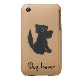 Black Dog / Dog Lover iPhone 3G Case | iPhone Cases | Scoop.it