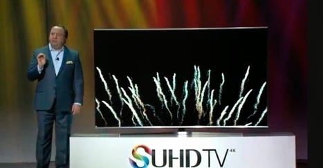 Samsung unveils new 4K TVs with 'Ultra High Definition' screen tech   Rosand Post   NDAWULA ROBERT   Scoop.it