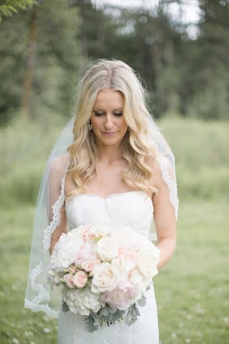 Romantic Pink, Grey & Gold Vancouver Wedding | Celebrities & Stars & Entertainment & Travel & Sports | Scoop.it