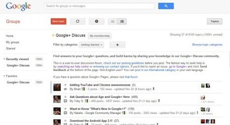 Google Help Forums Migrate to Google Groups | ScoopSEO | Scoop.it
