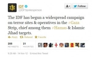 Israel Live-Blogs and Tweets Attack on Hamas, Uploads Killing To YouTube - Forbes | Internet and Warfare | Scoop.it
