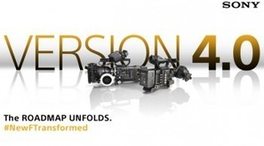 Sony F5 & F55 Camera Version 4 Firmware Information: | Videography | Scoop.it