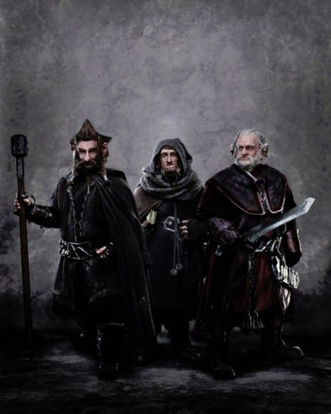 First look at the Dwarf brothers Dori, Nori and Ori in The Hobbit | All Geeks | Scoop.it