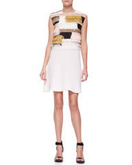 Sleeveless Raffia Patchwork Dress | Bellaboy | Scoop.it