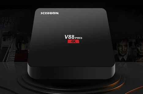 SCISHION V88 PRO TV Box Powered by Amlogic S905X SoC Sells for $22 (Promo) | Embedded Systems News | Scoop.it