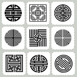 Simple Korean patterns | Year 3-4 Arts: Visual arts - Korean patterns | Scoop.it