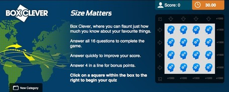 Size Matters Quiz | Regional Geography | Scoop.it