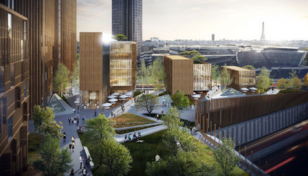 MGA Proposes World's TALLEST Wood Building in Paris | The Architecture of the City | Scoop.it
