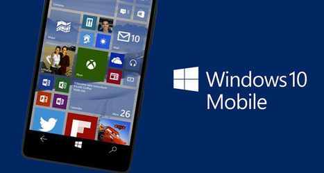 Upgrading existing Windows Phone 8.1 devices to Windows 10 Mobile | Technology watch | Scoop.it
