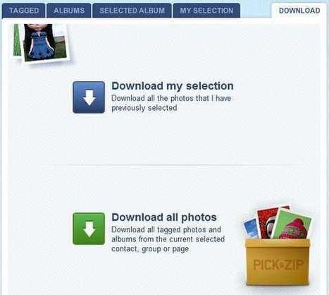 Descargar todas tus fotos de facebook de una forma sencilla | Ono | Infografías | Scoop.it