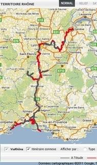 Itinéraire cyclable ViaRhôna, du Léman à la Méditerranée - Territoire Rhône | Balades, randonnées, activités de pleine nature | Scoop.it