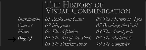 Un sitio impresionante y altamente interesante...> The History of Visual Communication | Comunicación inteligente | Scoop.it