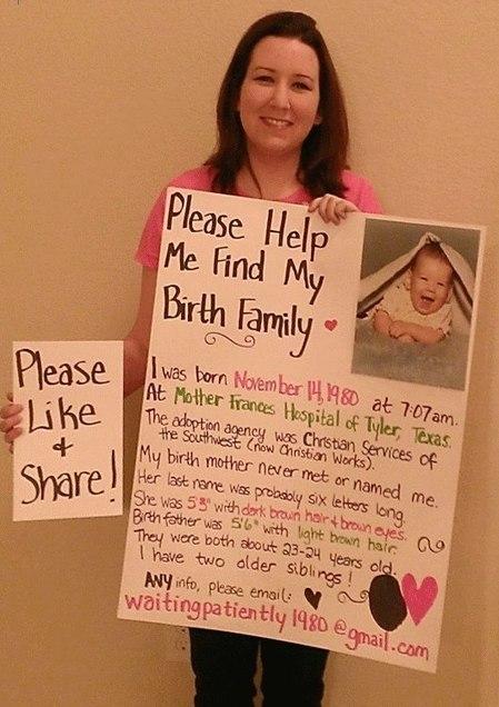 Jessica Hernandez Miller's Photos | Facebook | help me find my birth relatives | Scoop.it