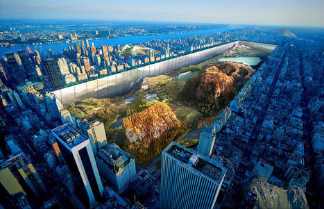 There's A Proposal To Build 1,000 Ft Walls Around An Excavated Central Park | The ART of Storytelling | Scoop.it