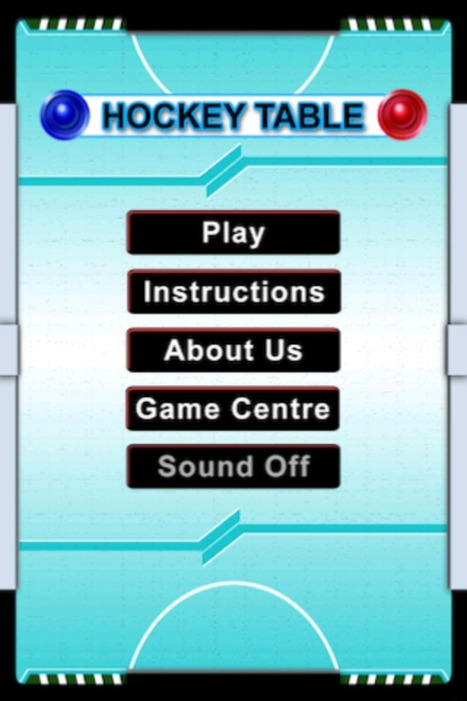 Best Upcoming Sports Game | Hockey Table for iPhone By iLif | Upcoming Games and Apps By iLife | Scoop.it