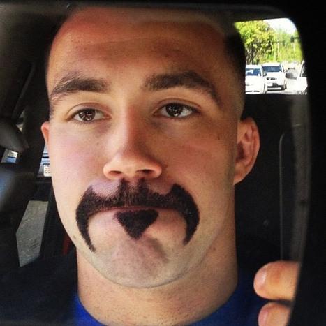Batman mustache | Danza | Scoop.it