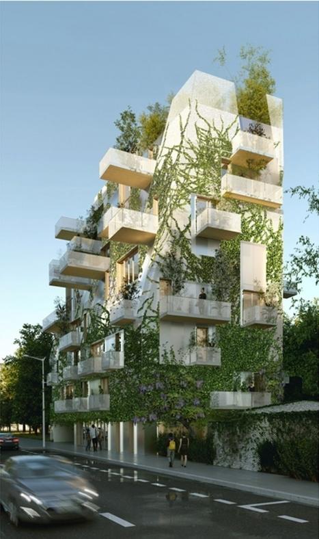 Architecture : Bordeaux veut croire aux immeubles en bois   L'usager dans la construction durable   Scoop.it