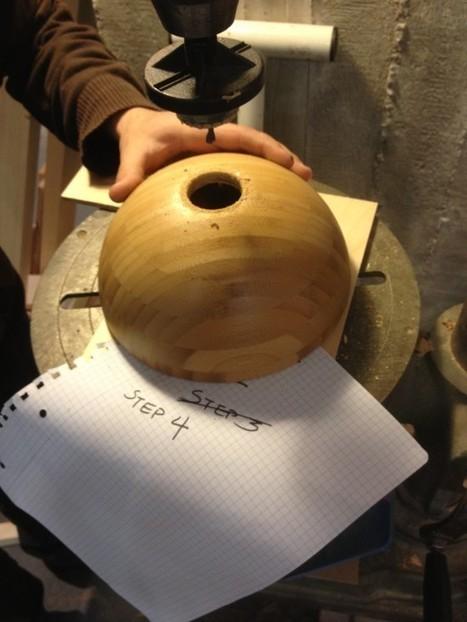 Wooden Light from Bowl - IKEA Hackers | L'Etablisienne, un atelier pour créer, fabriquer, rénover, personnaliser... | Scoop.it