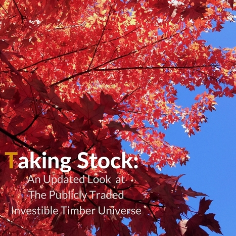 Taking Stock: What PlumHaeuser Portends for Timber Equities... | Timberland Investment | Scoop.it