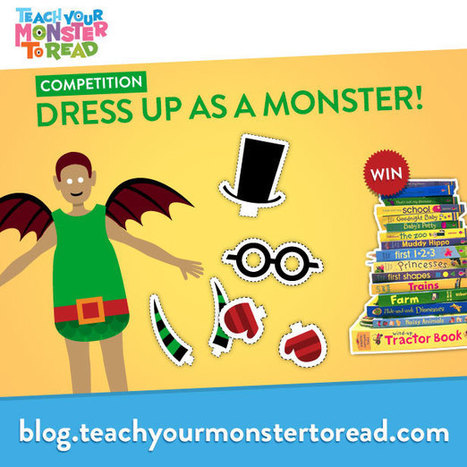 Teach Your Monster To Read : Blog : Dress Your Teacher or Parent as a Monster! | Education, teaching, ideas | Scoop.it