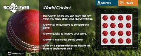 World Cricket Quiz | Box Clever | QuizFortune | Quiz Related Biz - Social Quizzing and Gaming | Scoop.it