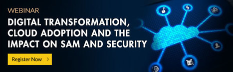 Digital Transformation, Cloud Adoption and the Impact on SAM and Security Webinar | Software License Optimization and Software Asset Management | Scoop.it