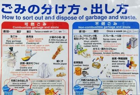 Tokyo: de l'art de bien trier ses ordures   Des 4 coins du monde   Scoop.it